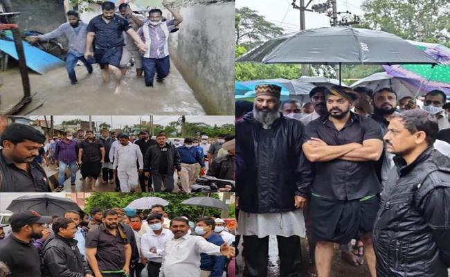 Nivar Cyclone Effect Heavy Rainfall In Andhra Pradesh - Sakshi