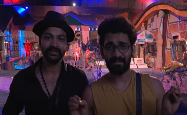 Bigg Boss 4 Telugu : Do Not Play This Video Akhil And Sohail Request To Bigg Boss - Sakshi