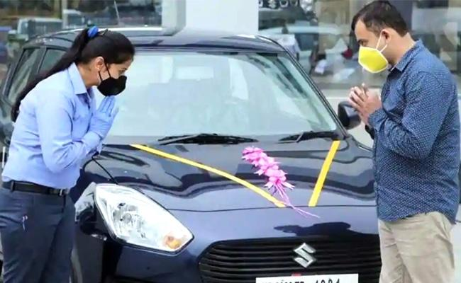 Demand for cars from rural areas and first time buyers - Sakshi