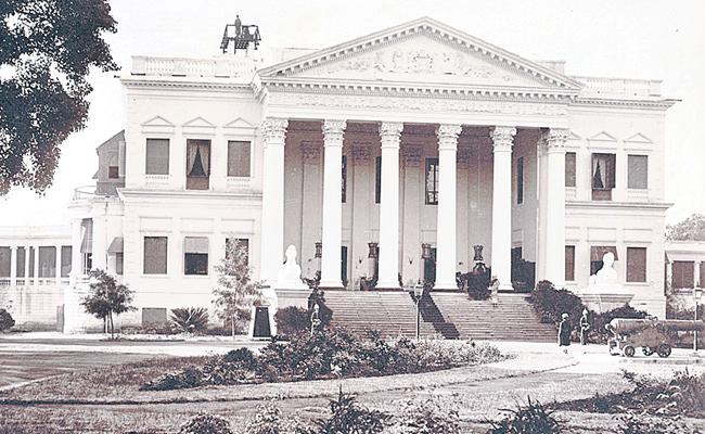 Koti Womens College British Residence Is Like White House Of America - Sakshi