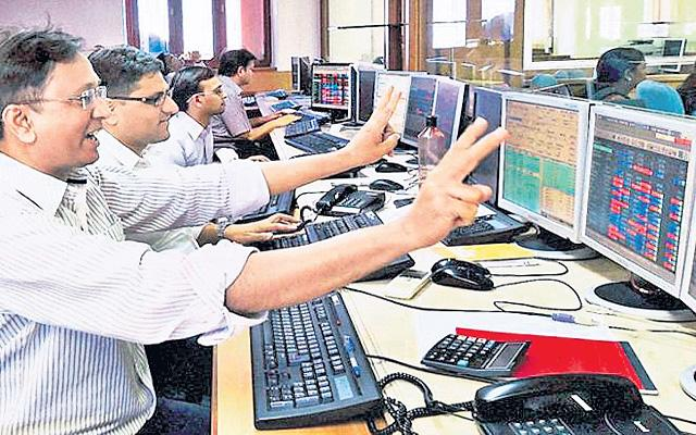 Sensex Nifty Post Second Best F&O Series Of 2020 - Sakshi