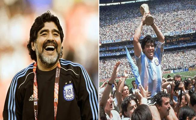 Greatest Of Ther Great Soccer Legend Diego Maradona Passes Away - Sakshi