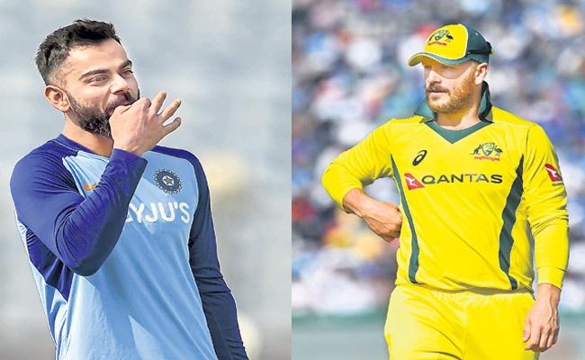 ICC Cricket World Cup Super League in focus as India, Australia begin ODI series - Sakshi