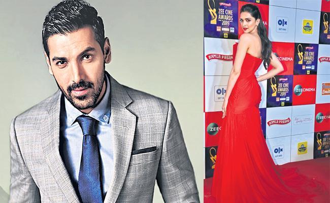 Deepika Padukone And John Abraham To Join Hands With Vijay - Sakshi