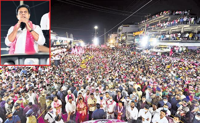 GHMC Elections 2020: TRS Running The Campaign Rapidly - Sakshi