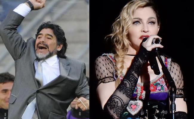 RIP Madonna trends users mistake her for Maradona - Sakshi