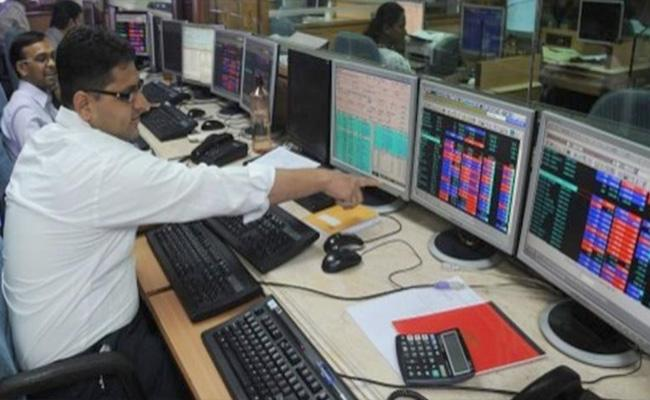 Market ends with losses- Mid, small caps jumps - Sakshi