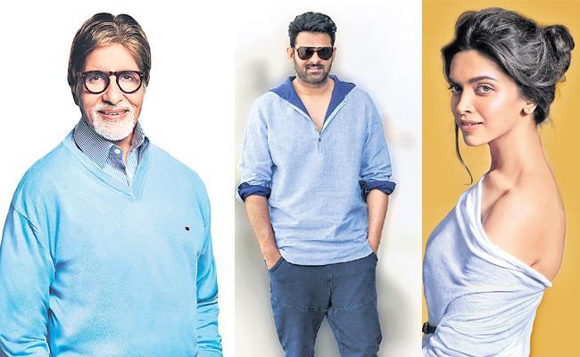 Amitabh Bachchan joins Deepika Padukone and Prabhas in next - Sakshi