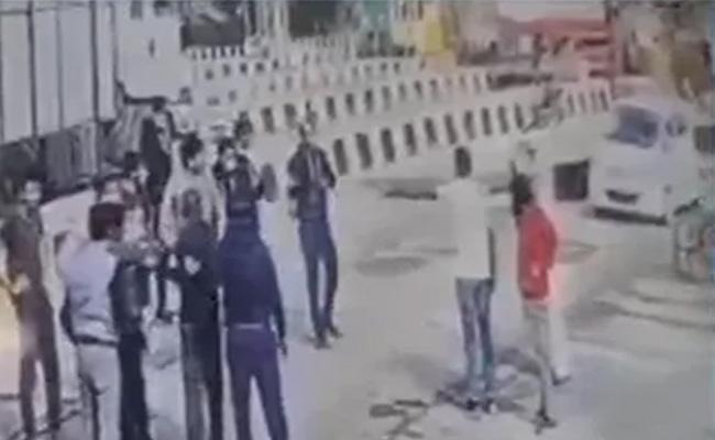 Rajasthan Congress MLAs Gunman, Driver Thrashed  By Toll staff - Sakshi