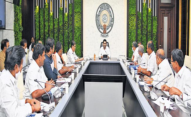 CM YS Jagan Comments With Ministers Chief Whip In A Meeting - Sakshi