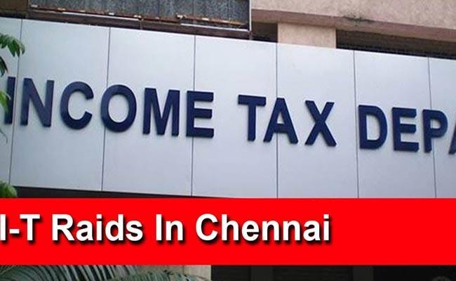 IT Attacks On Farmers House At Chennai - Sakshi