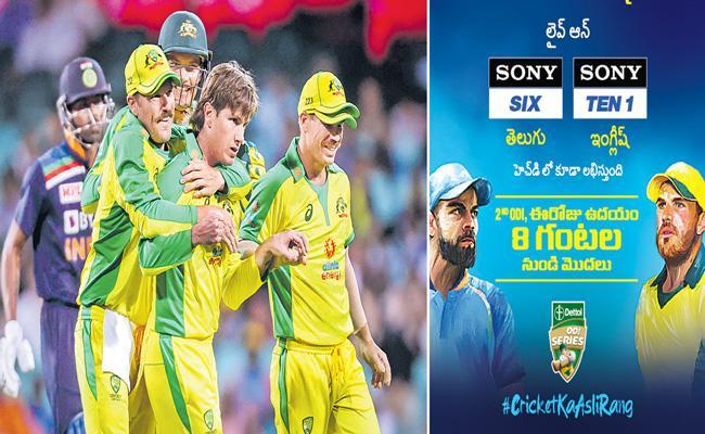 India vs Australia 2nd ODI in Sydney - Sakshi