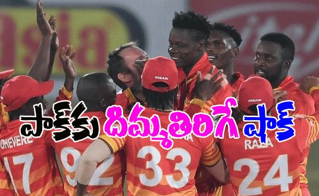 Zimbabwe Win Final ODI In Super Over Against Pakistan - Sakshi