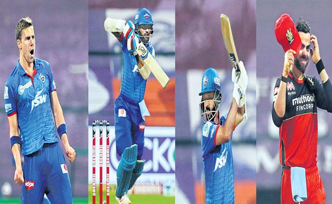 Delhi Capitals beat Royal Challengers Bangalore by 6 wickets - Sakshi