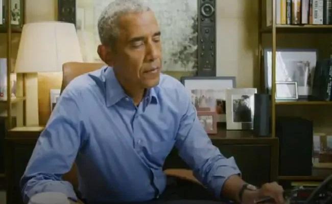 Barack Obama Dials People To Vote For Joe Biden - Sakshi