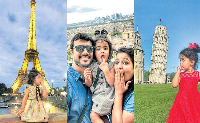 Blogger Silky Puri Investing In Her Daughter Travels - Sakshi