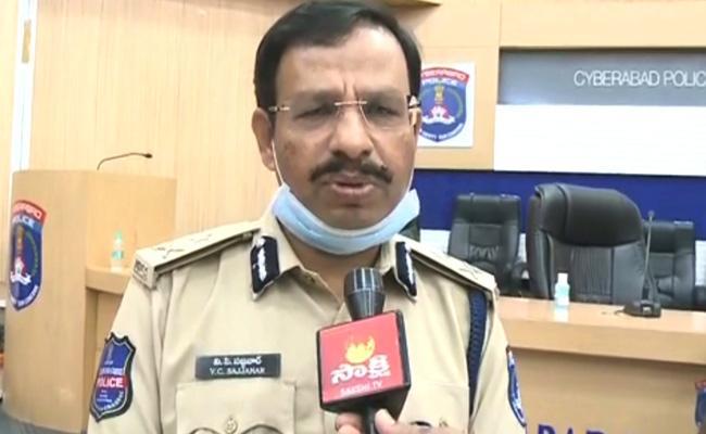 GHMC Elections 2020: CP Sajjanar Press Meet At Hyderabad - Sakshi