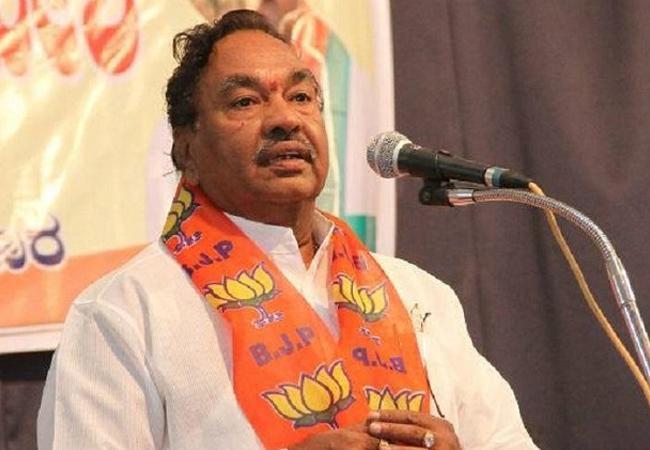 Karnataka minister KS Eshwarappa says wont give BJP ticket to Muslim - Sakshi