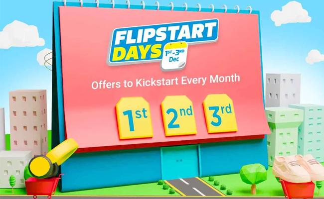Flipkart Flipstart Days Sale to Start Tomorrow, With Offers of Up to 80 Percent Off - Sakshi