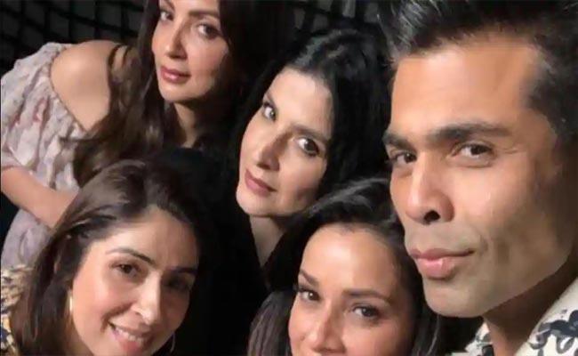 Karan Johar Reply To Netizen Who Calls He Is The Favourite Wife In Web Series - Sakshi