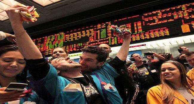 US Market jumps on stimulus hope on Joe Bidens victory - Sakshi