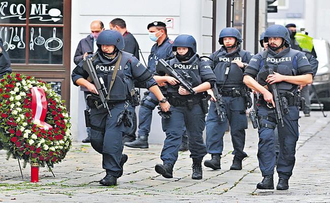 Terrorist Attack In Austria - Sakshi