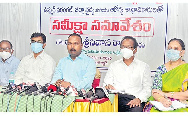 Director of Medical,Health: Covid‌ Intensity Is High In Winter - Sakshi