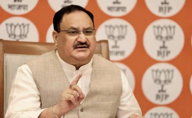 Centre keen to run trains your govt not performing duties J P Nadda - Sakshi