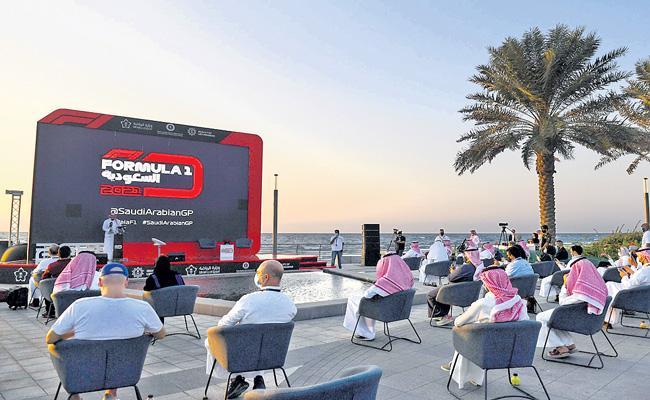 F1 adds Saudi Arabian Grand Prix night race to 2021 calendar - Sakshi