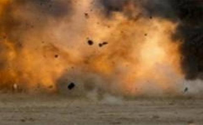 Three Police Officers Killed   In Blast In Afghanistans Kandahar - Sakshi