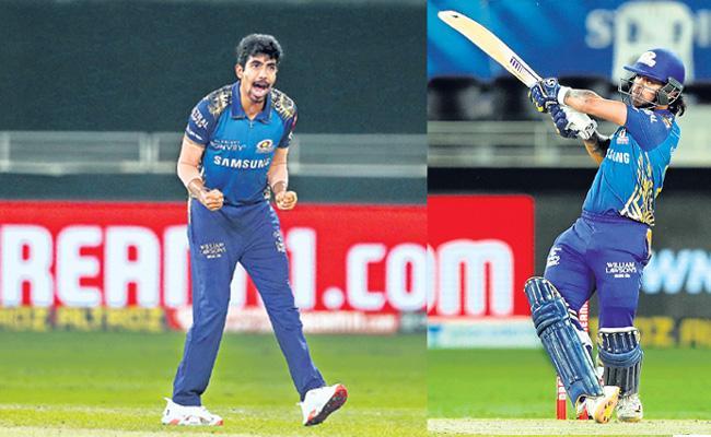 Mumbai Indians beat Delhi Capitals by 57 runs - Sakshi