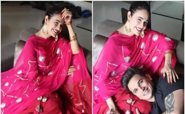 Yuvika Chaudhary Denies Pregnancy Rumours - Sakshi