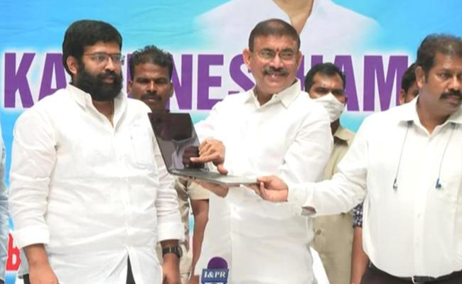 Minister Chelluboina Venugopala Krishna Comments On Chandrababu - Sakshi