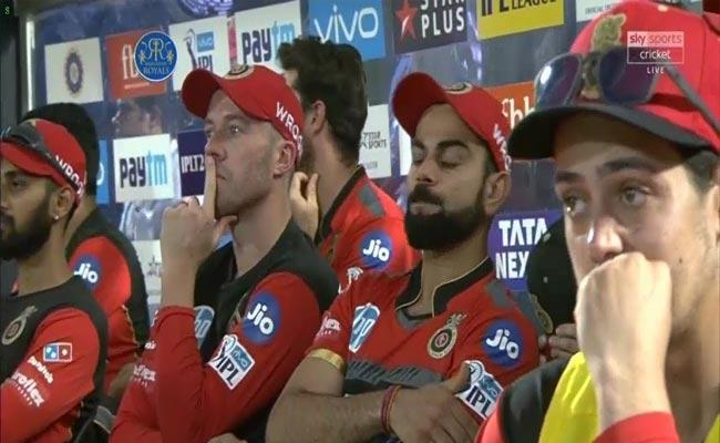 Hilarious Memes In Social Media On RCB After Eliminating From IPL - Sakshi