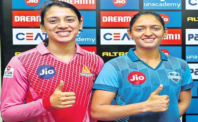 Trailblazers vs Supernovas clash to decide finalists of Womens T20 Challenge - Sakshi