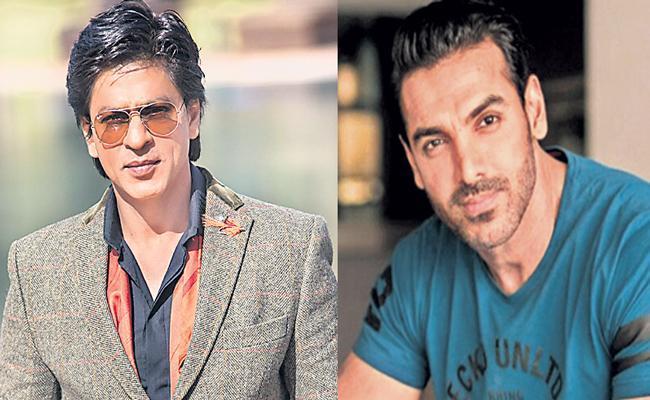 John Abraham Reportedly Charging Huge Amount Shah Rukh Khan Film - Sakshi