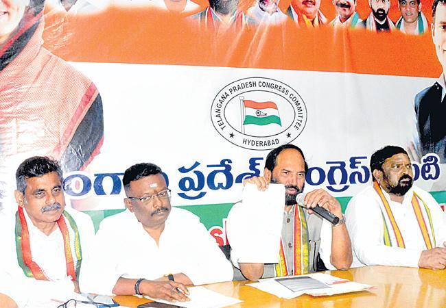 Uttam Kumar Reddy Says 387 Crore Scam In Greater Flood Relief - Sakshi