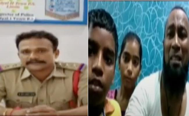 CI And Head Constable Arrested In Nandyal Family Suicide Case - Sakshi