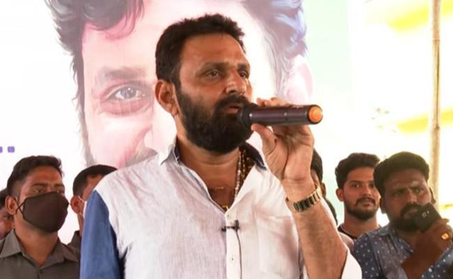 Minister Kodali Nani Slams Chandrababu In Gudivada - Sakshi
