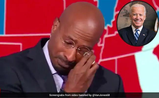 Joe Biden Victory CNN Van Jones Weeps On Camera Goes Viral - Sakshi