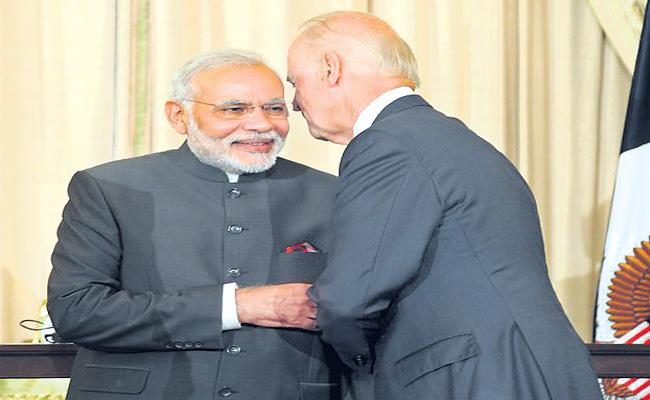 US friendly relations with India and other countryes - Sakshi
