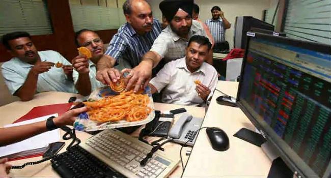 Sensex, Nifty hits new record highs  - Sakshi