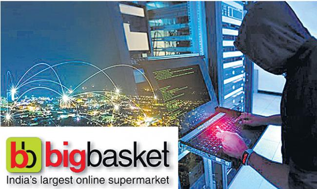 Bigbasket faces potential data breach - Sakshi