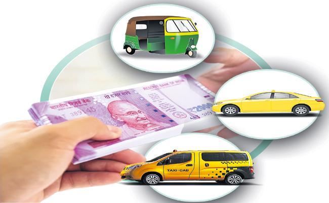 Cash Transfer To YSR Vahana Mitra Beneficiaries 11th November - Sakshi