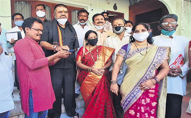 Muthamsetti Srinivasa Rao Was Released Song On Praja Sankalpa Yatra - Sakshi