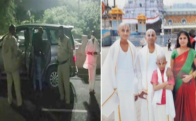 ASP Muni Ramayya Talks In Press Meet Over Tirumala Kidnap Case In Tirupati - Sakshi