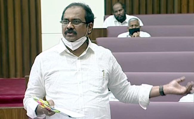 AP Assembly Session Kannababu Discussion About  - Sakshi