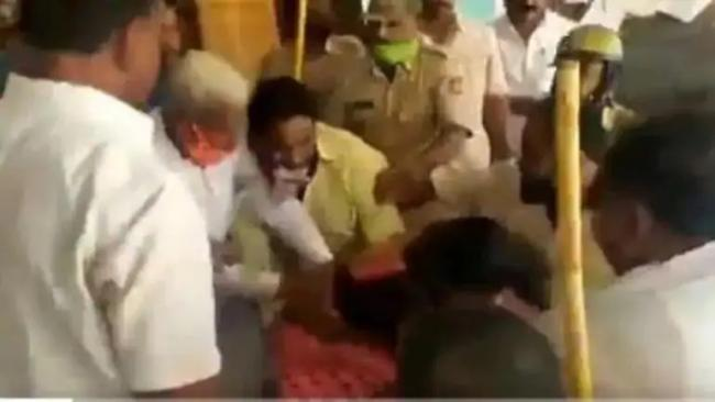BJP Woman Leader Suffers Miscarriage After Pushed by BJP MLA - Sakshi