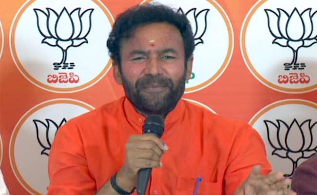 GHMC Elections 2020: Kishan Reddy Slams TRS - Sakshi