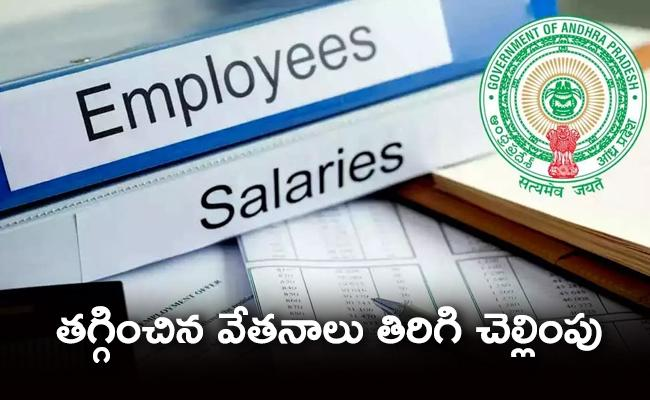 Finance Secretary SS Ravath Passed Orders Release Employes March Salary - Sakshi